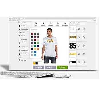 Online Apparel Designer