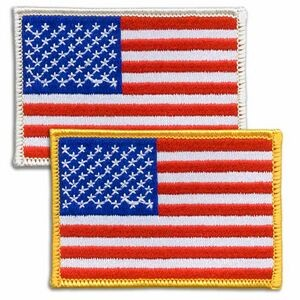 American U.S. Flag Patch - Embroidered
