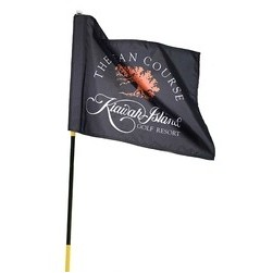 Full Color Golf Sponsorship Pin Flag