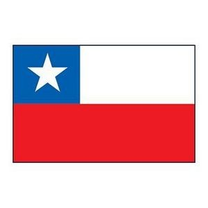 Chile Flag Temporary Tattoo