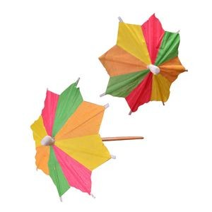 Mini Paper Parasols Cocktail Umbrella