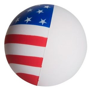 Flag Ball Squeezies® Stress Reliever