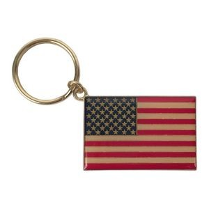 US Flag Key Chain