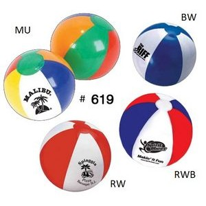 "16"" Official Size Inflatable Beach Ball"