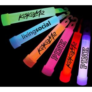 "4"" Glow Stick w/ Lanyard & Hook"