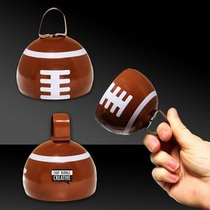 "3 1/2"" Metal Football Cowbell"