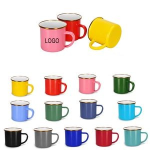 16oz Enamel Coffee Mugs