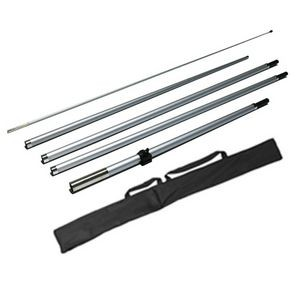14' Teardrop Flag Pole Stand with Carry Bag (Stand Only)