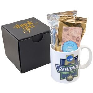 Gourmet Ceramic Mug & Hot Chocolate Gift Set