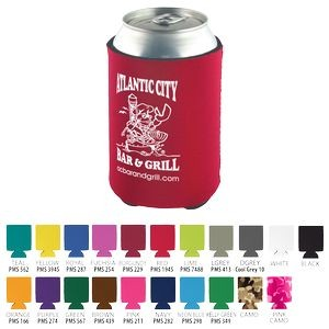 Beverage Insulator Cooler Pocket Can Coolie - 3 Side Imprint Included!