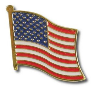 US American Flag Lapel Pin