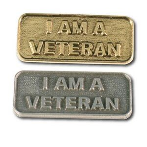 I Am A Veteran Stock Lapel Pin