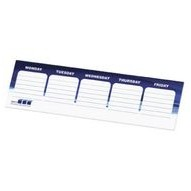"Post-it® Custom Printed Organizational Notes (3""x10"")"