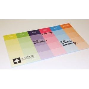 "Post-it® Custom Printed Organizational Notes (6""x10"") - 50 Sheets"