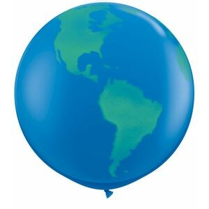 "36"" Giant Globe Balloon (Blank)"