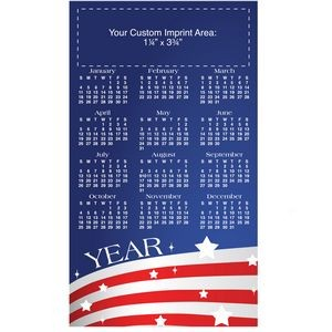"USA Process Color Magnetic Calendar/ 30 Mil (4""x7"")"