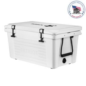 Patriot 50QT White Cooler