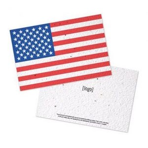 Patriotic Seed Paper Postcard (Medium)