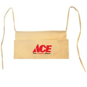 Natural Cotton Canvas Contractor Waist Apron - 1 Color (17