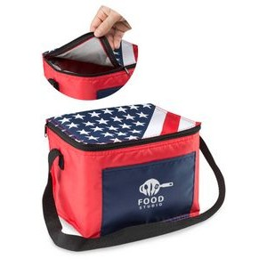 American Flag Lunch Bags