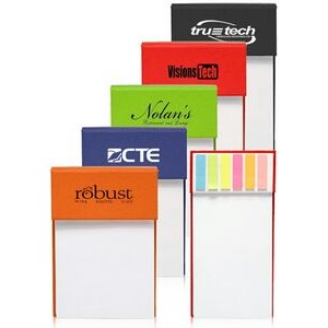Jotter Pads with Sticky Flags