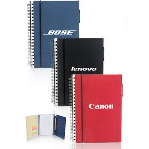 Spiral Notebooks with Elastic Closure
