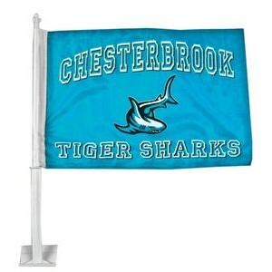 "1 Ply Car Flag (Super Saver - 12""x16"")"