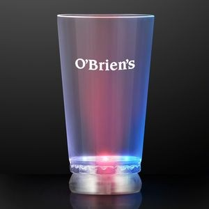16 oz. Red White & Blue Light Up Pint Glass