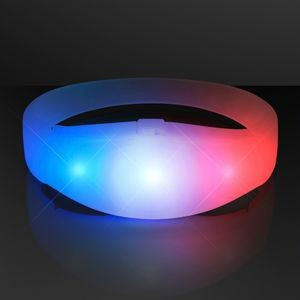 Red White & Blue Steady Illumination Stretch Bracelet