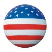 Sport Series US Flag Stress Reliever Ball