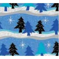 "Christmas Frosty Forest Full Ream Gift Wrap (833'x18"")"