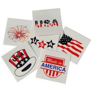 Patriotic Temporary Tattoos