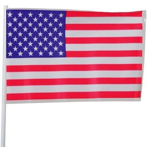 USA Flags - 4 x 6 Plastic (Case of 38)