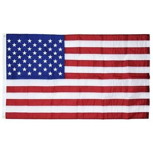 3' x 5' U.S. Outdoor Nylon Flag with Heading and Grommets