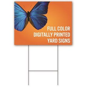 Yard Sign 12'' x 24'' - Double-Sided